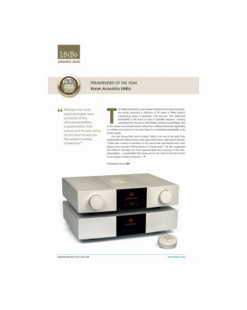 Karan Acoustics Master Collection LINEa — победитель в номинации «Предусилитель года 2020»